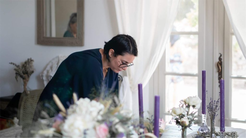 Mlle devient une reine wedding planner installation de décoration