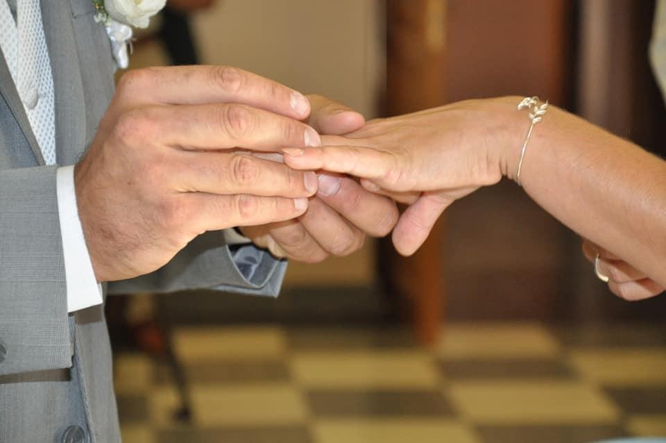 mairie échange des alliances bonne franquette de Morgane et Johan