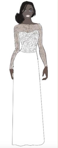 """alt=""""robe de mariée droite"""""""