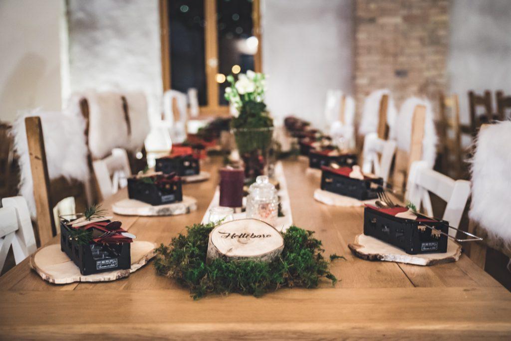 disposition de table en T photographié par Pauline k photographie