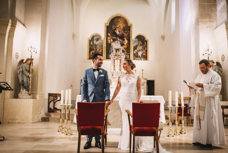 Mariage Chloé et Nicolas l'église