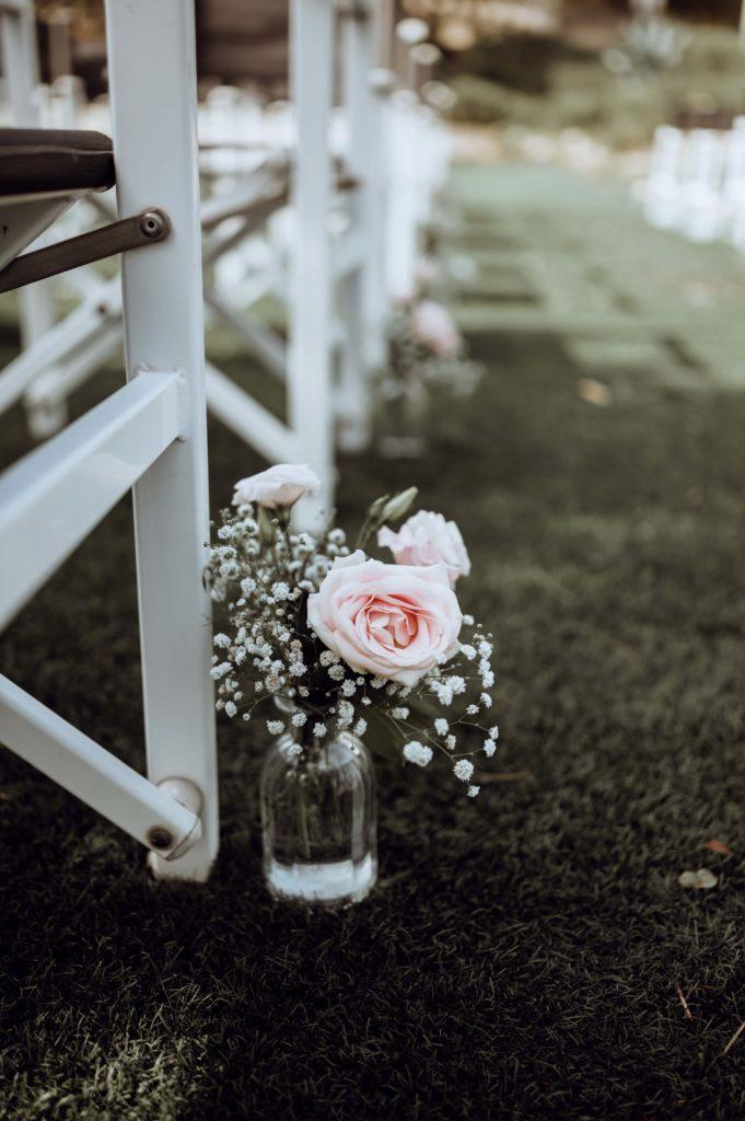 décoration florale Cérémonie laique de Nadège et Rudy