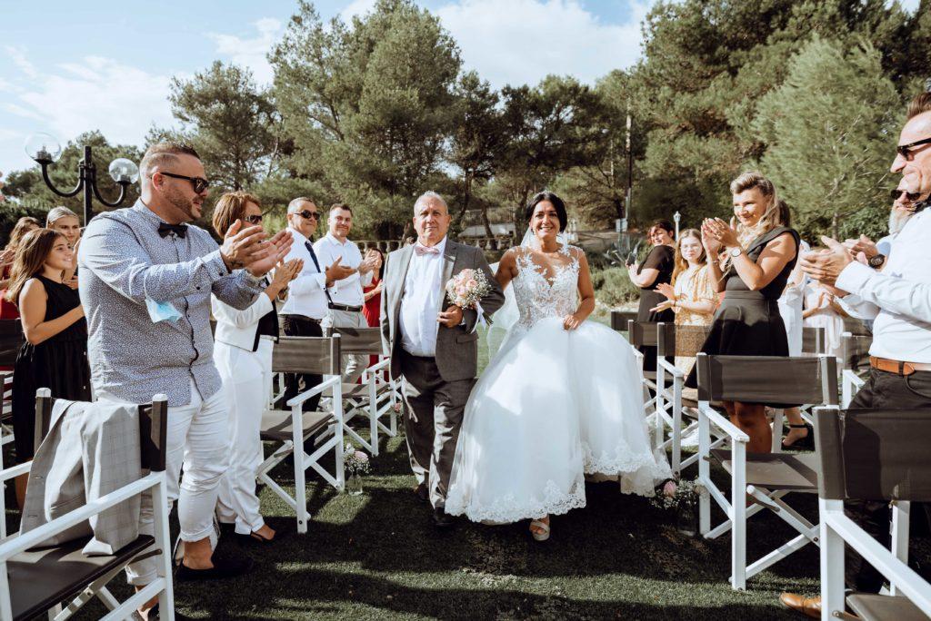 entrée de la mariée cérémonie laique