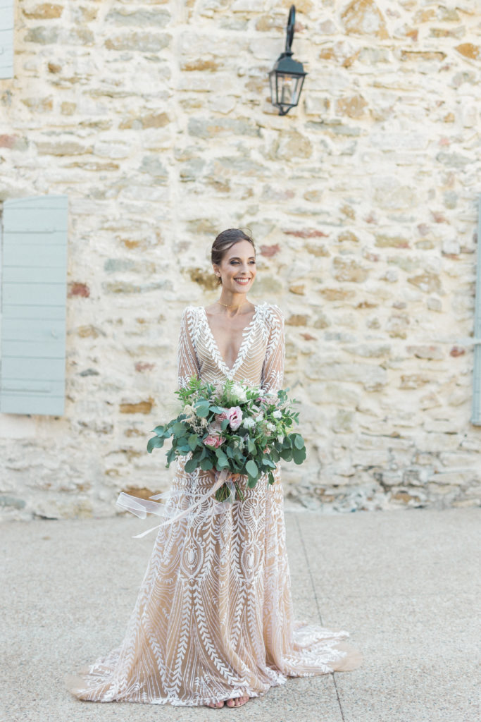 shooting clos du tuilier magnifique robe de mariée