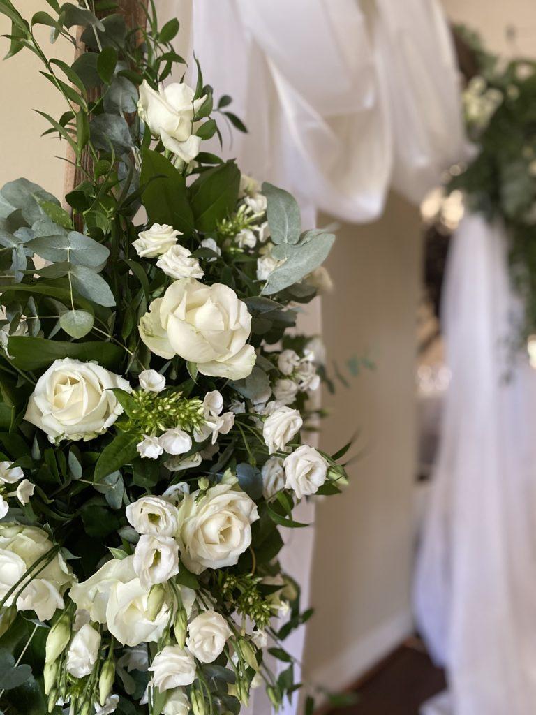 zoom arche décoration mariage
